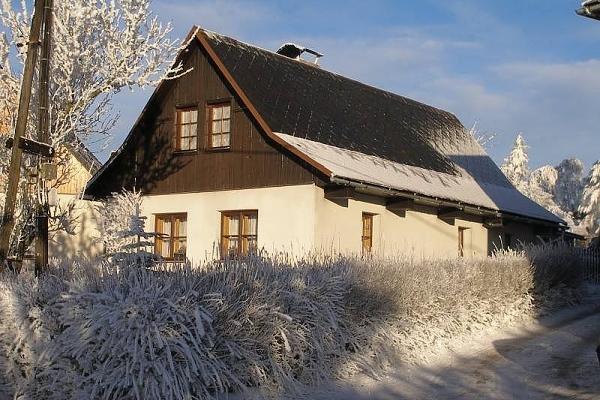 Silvestr na horách - Vysočina - Chalupa v Odranci