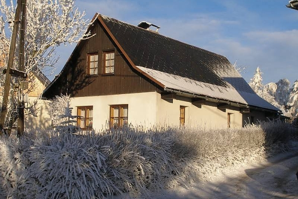Silvestr na hor�ch - Vyso�ina - Chalupa v Odranci